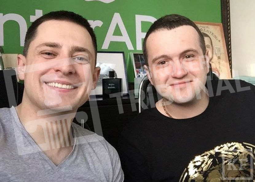 Эрик Гафаров и Владимир Сухоплюев