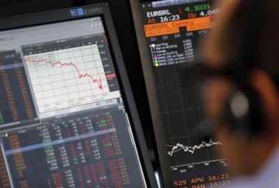 Падение стоимости акций на европейских рынках