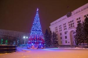 Елка для Кемерово за 18 000 миллионов рублей