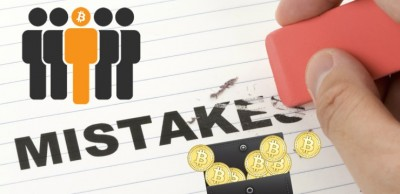 Пользователи криптовалют ошибаются. В чем их 10 главных ошибок?