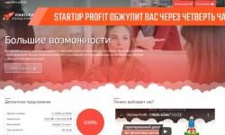 «Межнациональное финансовое предприятие» Startup profit обжулит вас через четверть часа