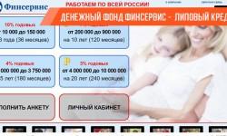 Липовые займы в денежном фонде Финсервис
