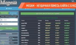 Разоблачение проекта Megam