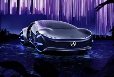 Mercedes AVTR стал главным сюрпризом CES 2020